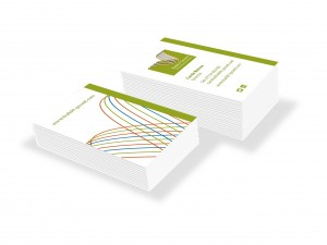 Buildit new biz cards white
